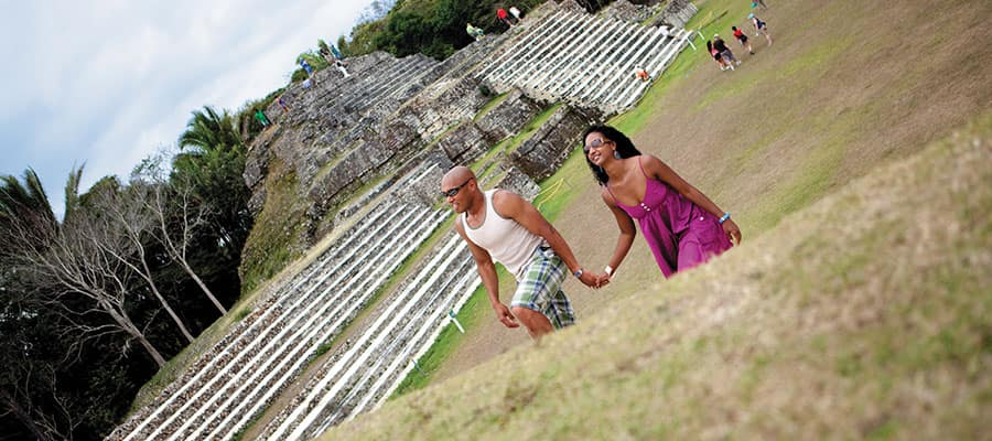 Explore the ruins of Altun Ha on your Caribbean cruise
