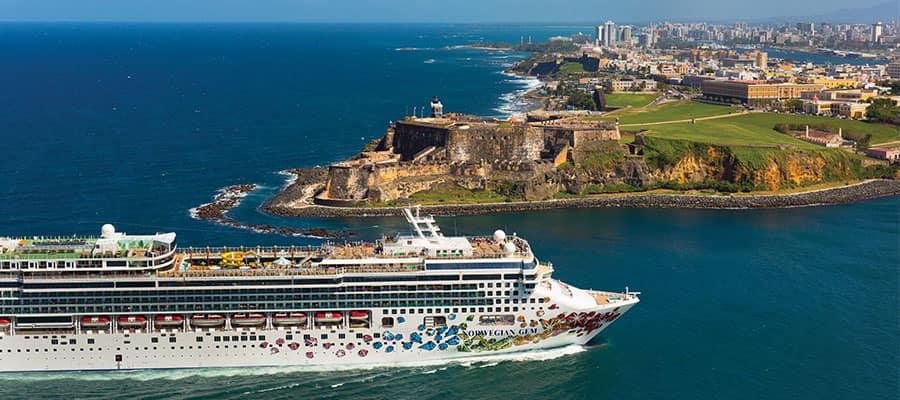 Faça um cruzeiro para San Juan a bordo do Norwegian Gem
