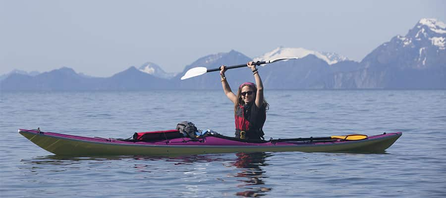 Kayak on your Alaska cruise