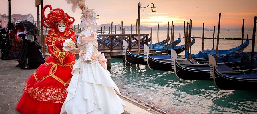 Carnaval en tu crucero por Europa desde Venecia