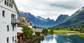 Geiranger, Norvegia