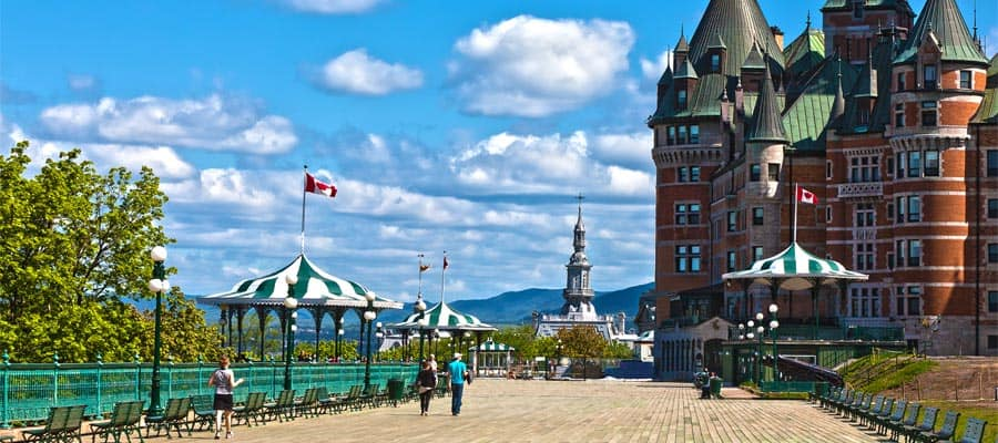 Your cruise holiday is not complete without a visit to hotel Chateau Frontenac