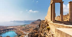 Ancient Lindos in 3D
