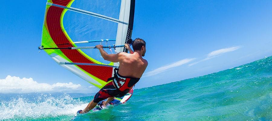 Windsurf en cruceros a Safaga