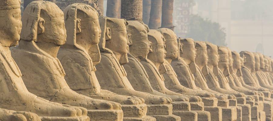 Templo de Luxor em cruzeiros em Safaga