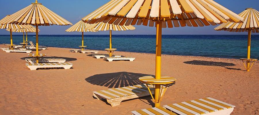 Playas soleadas en Safaga