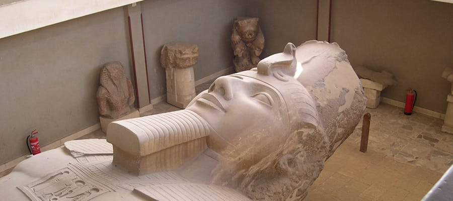 Ramsés II em cruzeiro em Safaga