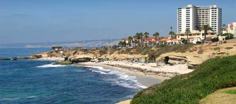 San Diego Beaches on your Mexican Riviera cruise