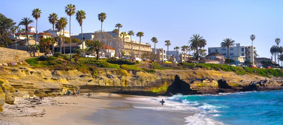 La Jolla Shores on your Mexican Riviera cruise