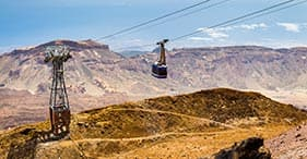 Mount Teide With Cable Car