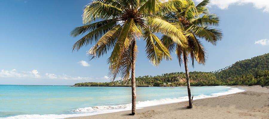 サントドミンゴのビーチ