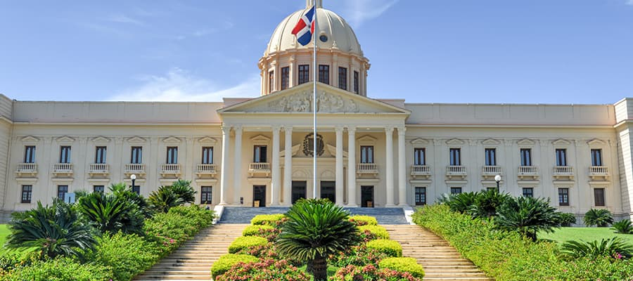 サントドミンゴクルーズで訪れる国会議事堂