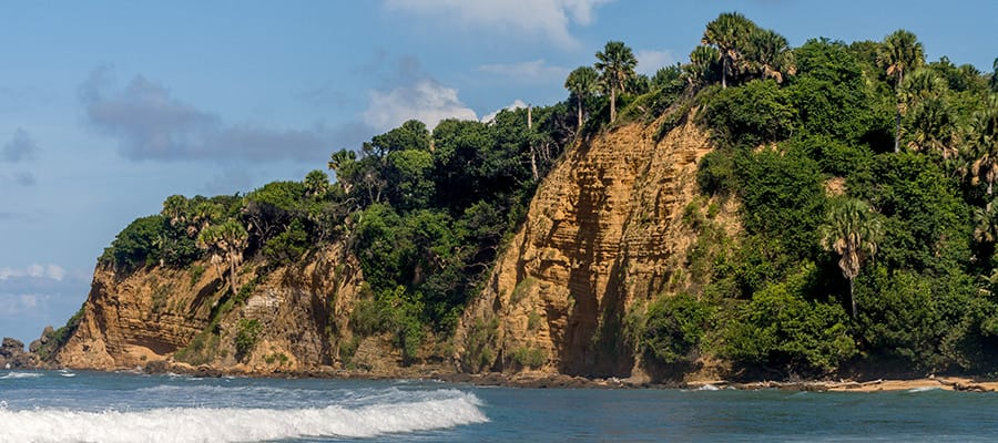 サントドミンゴクルーズでの美しい風景