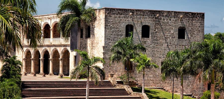 カリブ海クルーズで訪れるコロンブス宮殿