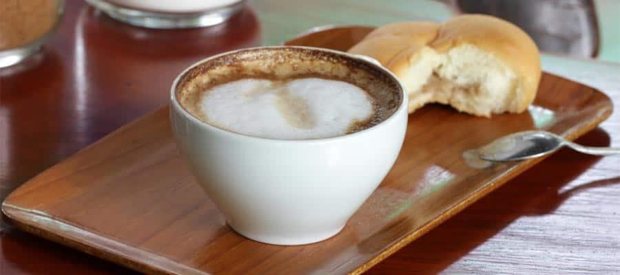 Café em seu cruzeiro em Seattle