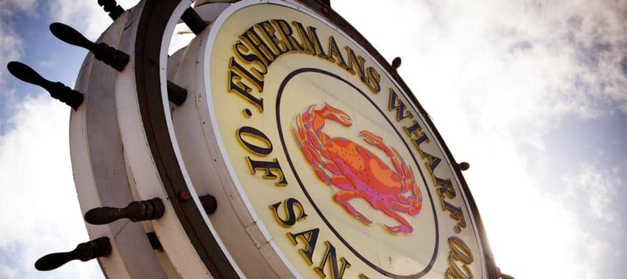Grab the catch of the day at Fishermans Wharf when you cruise to San Francisco