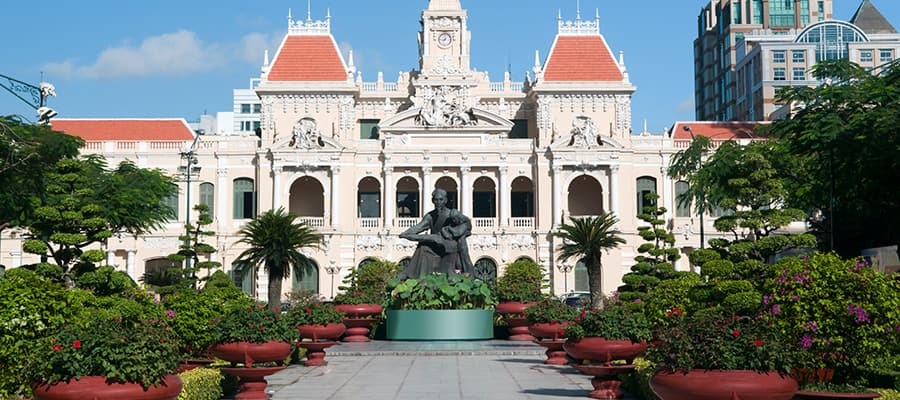 People's Committee Hall on Cruises to Phu My (Ho Chi Minh City)