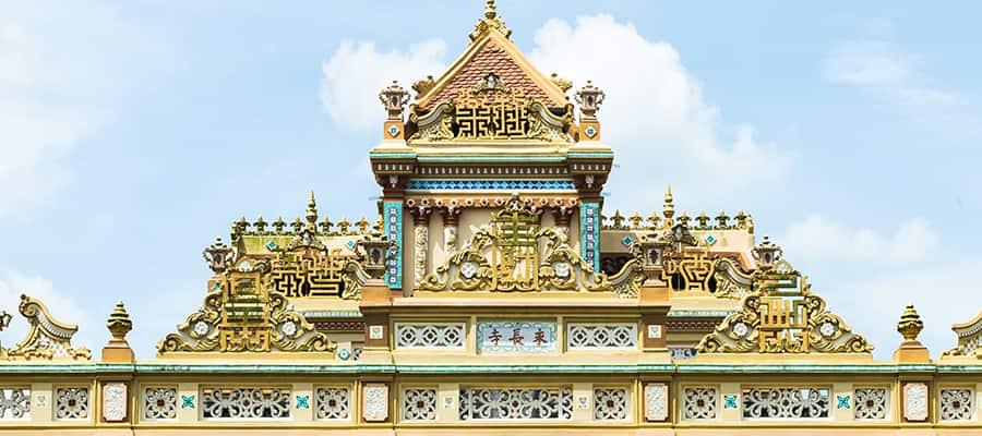 Vinh Tranh Pagoda in My Tho