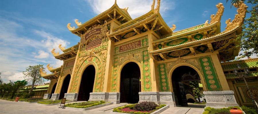 Vietnam Dai Nam temple on Cruises to Phu My (Ho Chi Minh City)