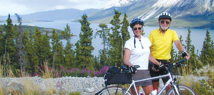 Bicycle Adventure on an Skagway cruise