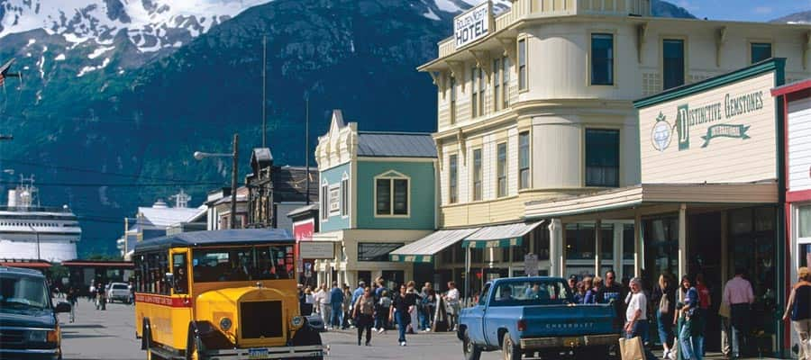 Street Car on an Alaska cruise