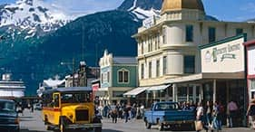 Skagway's Original Street Car