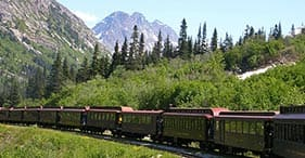 White Pass Railway, Klondike Gold Fields & Panning
