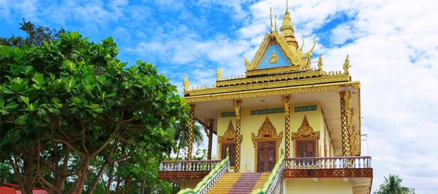 Wat Leu on your Sihanoukville Cruise