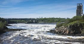 Skywalk & The Reversing Falls Rapids