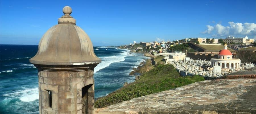 Castillo San Felipe del Morro à San Juan