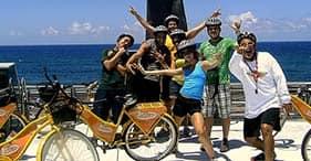 Old San Juan on a Bicycle