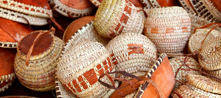 Handmade Baskets for sale on your Asia cruise