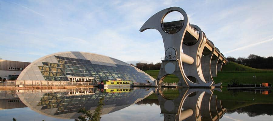 Falkirk Wheel on Europe vacation