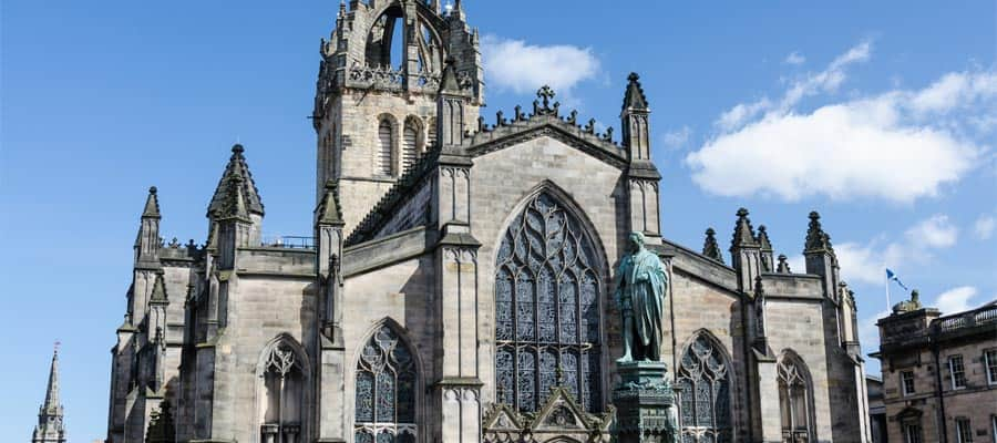 St. Giles Cathedral on your Scotland cruise