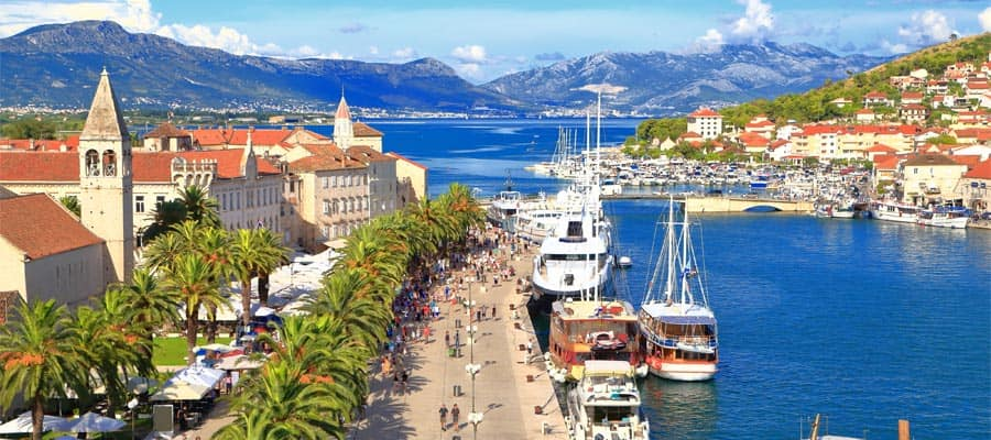 Sail on a Europe Cruise and visit Split, Croatia