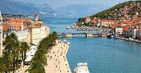 Salona antigua y ciudad medieval de Trogir