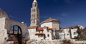 Caminata turística en la histórica ciudad de Split