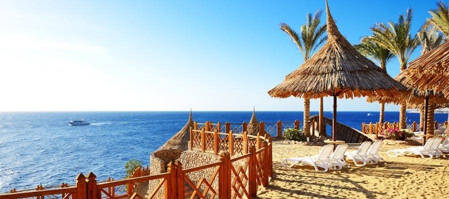 Strand in Sharm el Sheikh