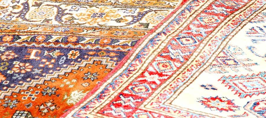 Superbes tapis orientaux lors d'une croisière à Charm el-Cheikh
