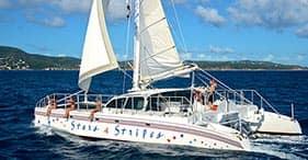 2 Stop Snorkel by Catamaran