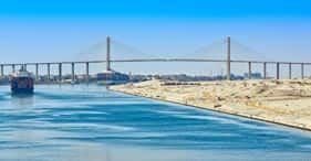 Suez Kanal, Ägypten