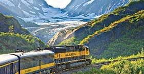Embarkation Scenic Cruisetrain - Anchorage Airport to Seward Cruise Ship Terminal