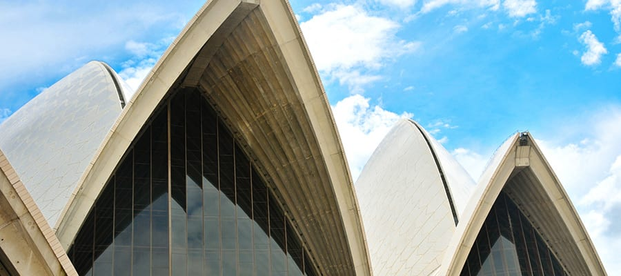 Sydney Opera House on Cruises to Sydney