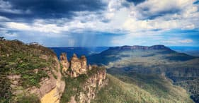 Blue Mountains with Airport Transfer