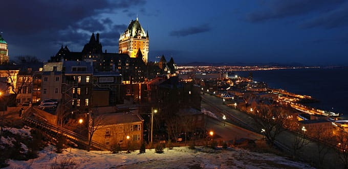 Visit the crown jewel of French Canada in Old Quebec.