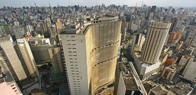 Experience the bustling city of Sao Paulo