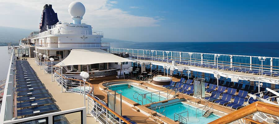 Pool Deck on Pride of America