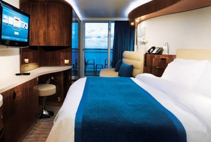 Relax in style in Norwegian's luxurious accommodations.