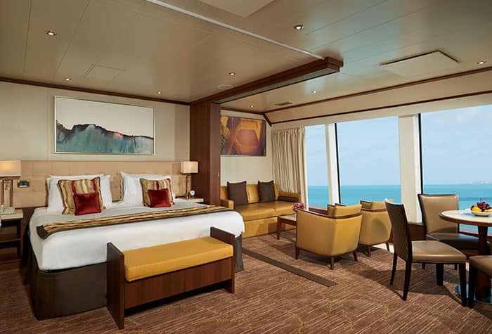 Suite familiar en el Norwegian Dawn
