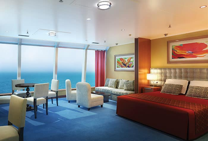 Suite familiar en el Norwegian Star